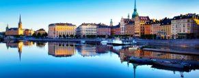 Direction Stockholm en Suède
