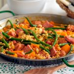 gammon-and-sausage-paella