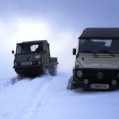 Aventure en Islande, randonnée dans le Landmannalaugar en hiver