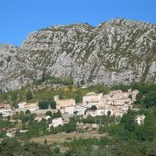 Les canyons de la vallée de l'Estéron