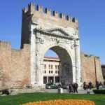 Arco d'Augusto Rimini Italy -1