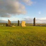 Standing stones stenness orkney islands