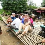 train de bambou au Cambodge