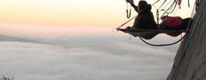 Insolite : on a dormi à flanc de falaise en Pays de Savoie