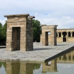 temple du debod à Madrid