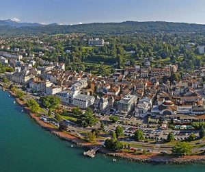 Evian-les-bains en France