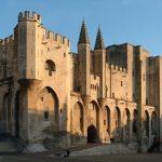 Façade du Palais des Papes Avignon