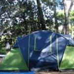 Camping à Giens, en France