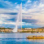 Genève, jet d'eau