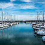 Port de plaisance, France