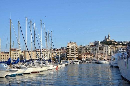 Vieux port en France