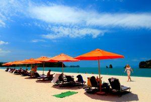 plage en Malaisie, Asie