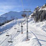 Samoëns, domaine skiable ne Haute Savoie, France