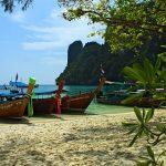Bord de plage en Thaïlande