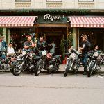 Moto Vintage à Oslo, Norvège