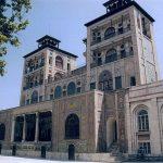 Palais du Golestan,Téhéran, en Iran