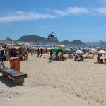 Copacabana, en Amérique du Sud