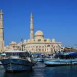 Hurghada, en Egypte, Afrique