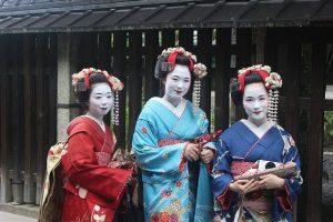 Séjour au Japon, geisha