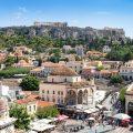 Séjour en Grèce, Athènes